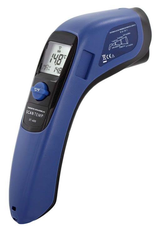 Termômetro Digital Infravermelho ST-600 Incoterm
