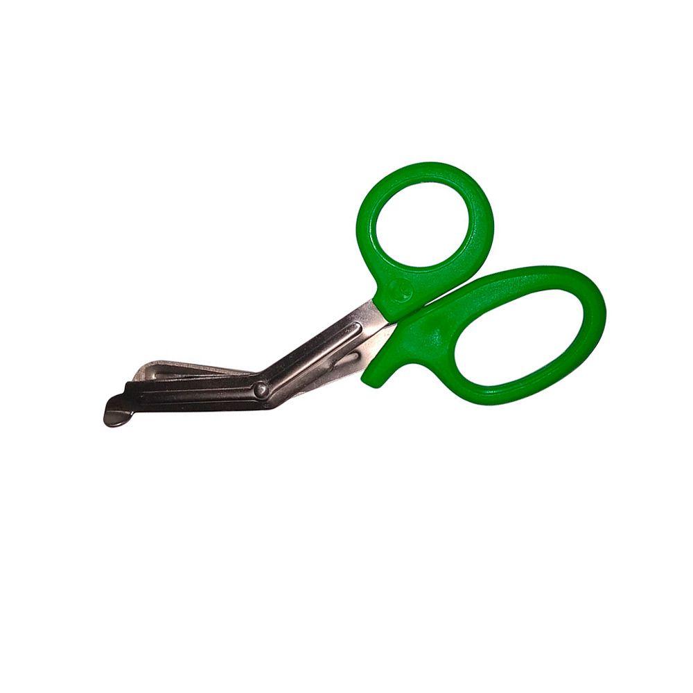 Tesoura Bandagem 14cm Verde MD