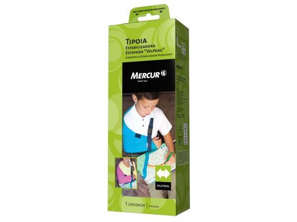 Tipóia Estabilizadora Estofada Velpeau Infantil Azul Mercur