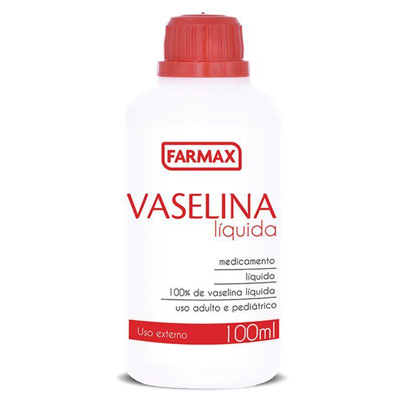 Vaselina Líquida 100ML Farmax