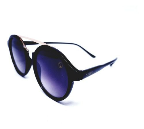 Óculos De Sol Feminino Preto, M.looy, Espelhado Preto