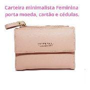 Carteira Feminina, Porta Cartão, Forever Young, Rosa