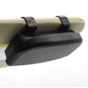 Porta óculos veicular com ímã caixa com forro para proteção