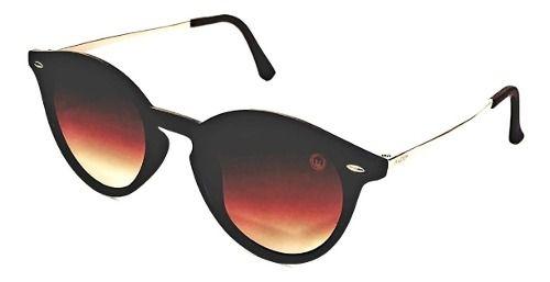 Óculos De Sol Feminino M.looy, Lente Degrade Marron Polariza