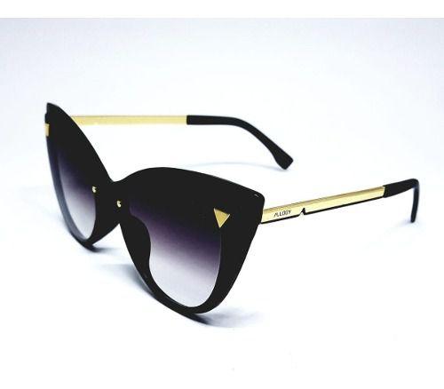 Óculos De Sol Feminino M.looy Design Cat Lente Degrade