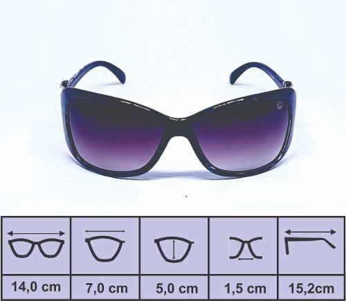 Óculos De Sol Feminino M.looy Design Fashion, Degrade