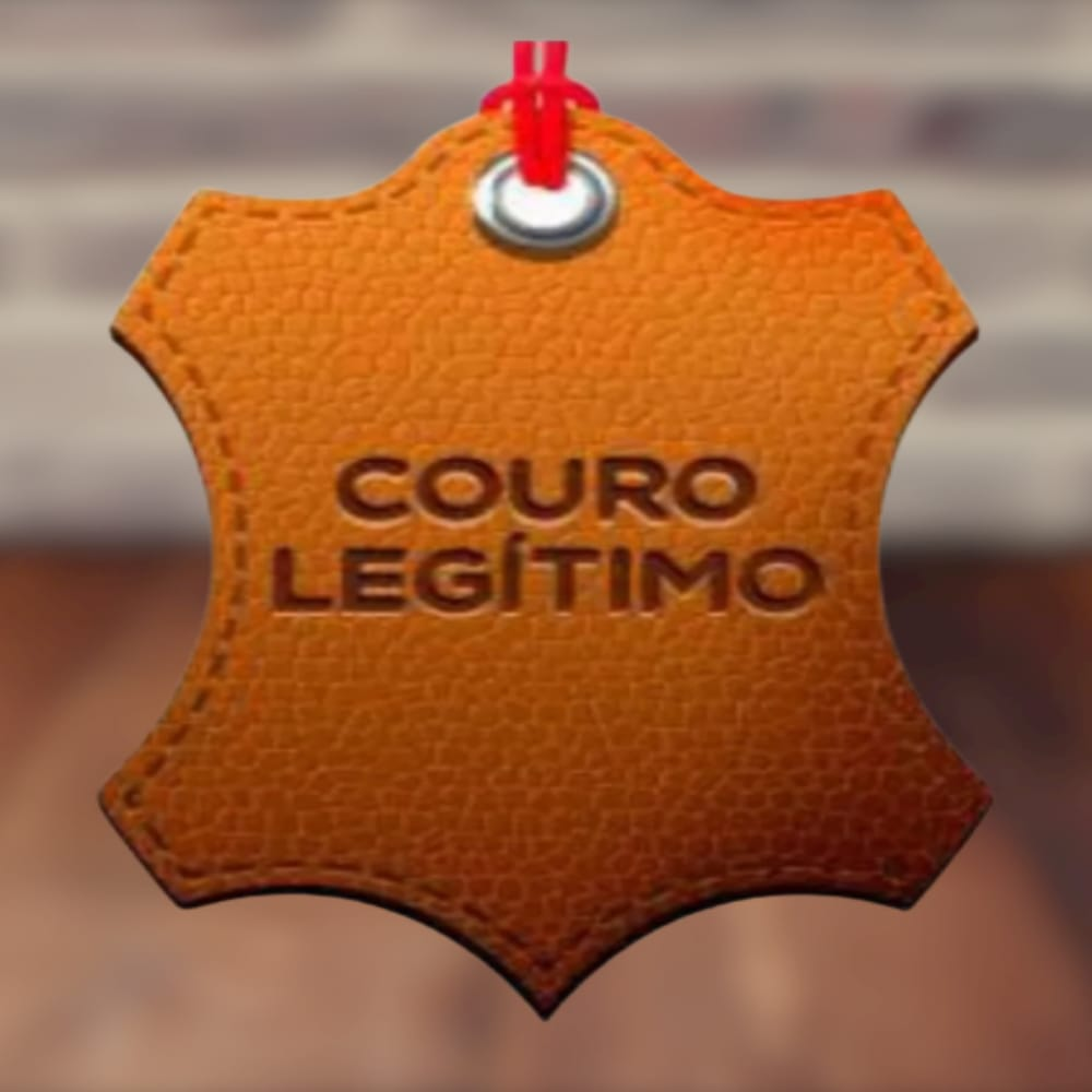 Carteira em Couro Discreta perfeita para Cartão e CNH