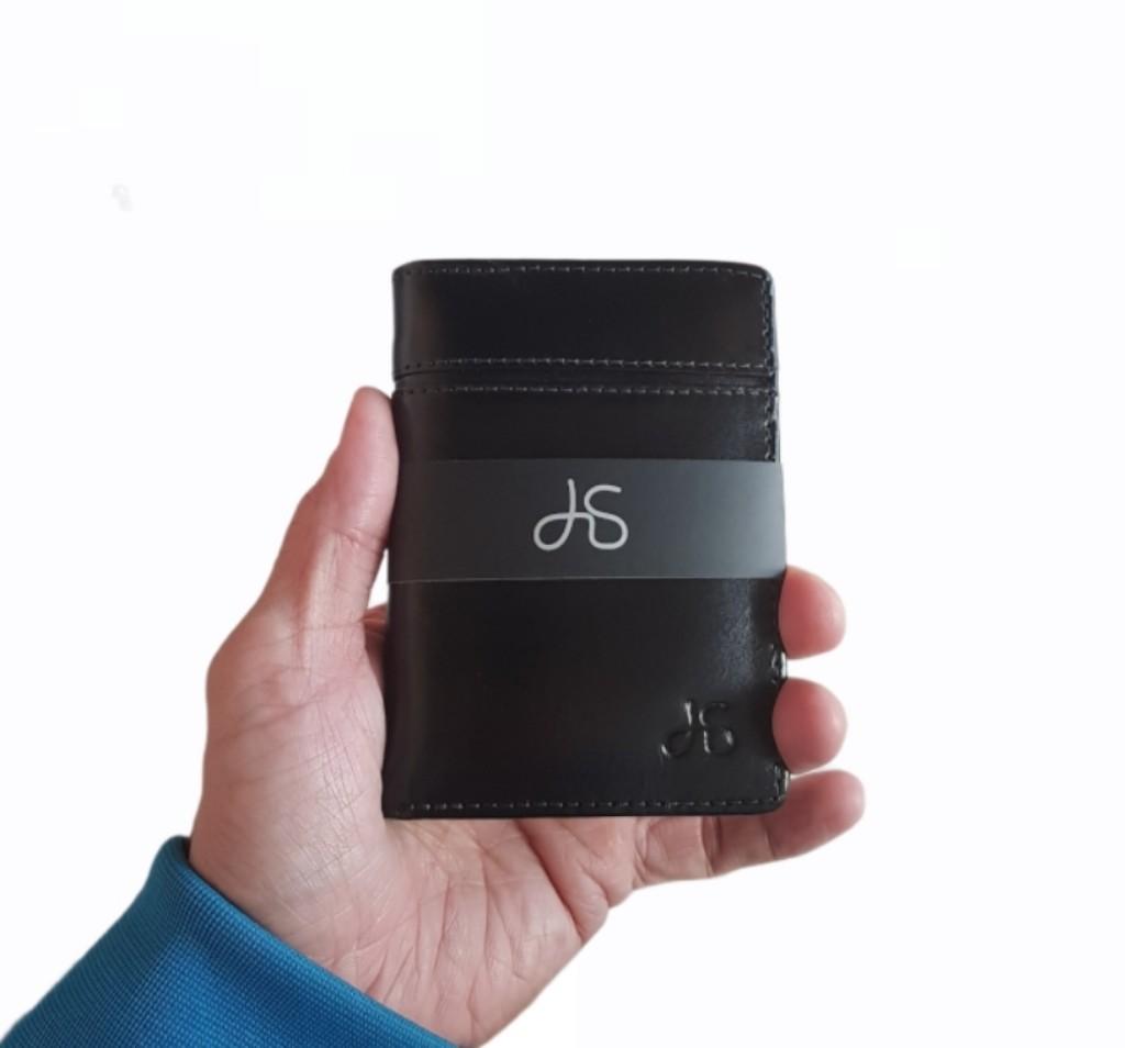 Carteira Porta Cartão de Couro Legitimo para RG e CNH