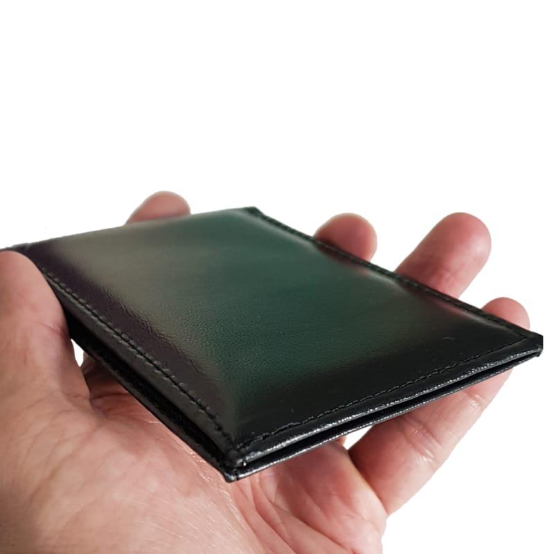 Carteira masculina de Bolso Slim Porta Cartão E Dinheiro