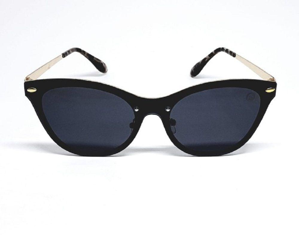 Óculos De Sol Feminino M.looy, Modelo Cat Lentes Pretas
