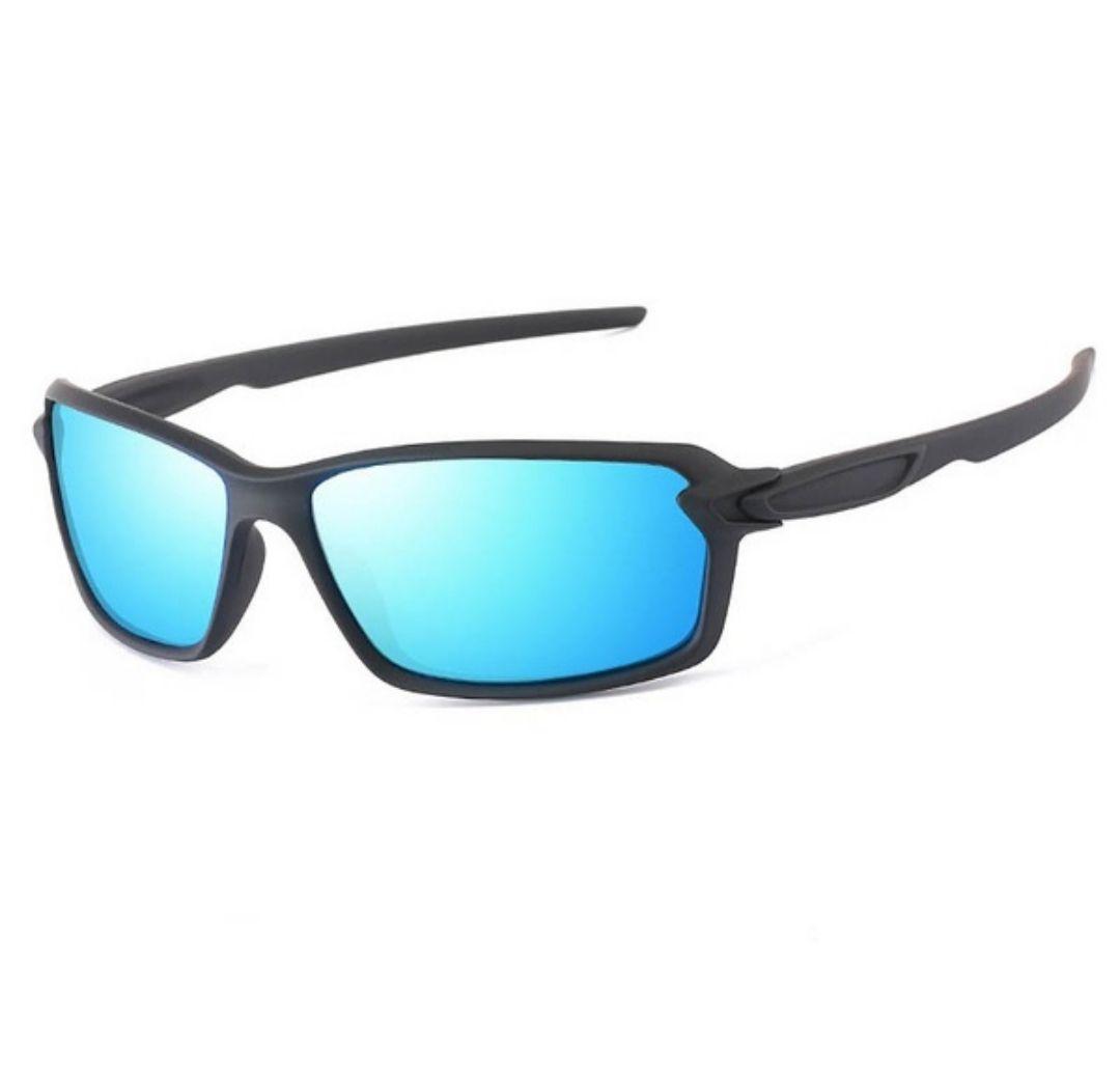 Óculos De Sol Esportivo Lentes Polarizado Espelhado