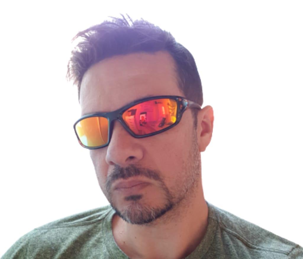 Óculos De Sol Masculino Esportivo Uv400 Polarizado