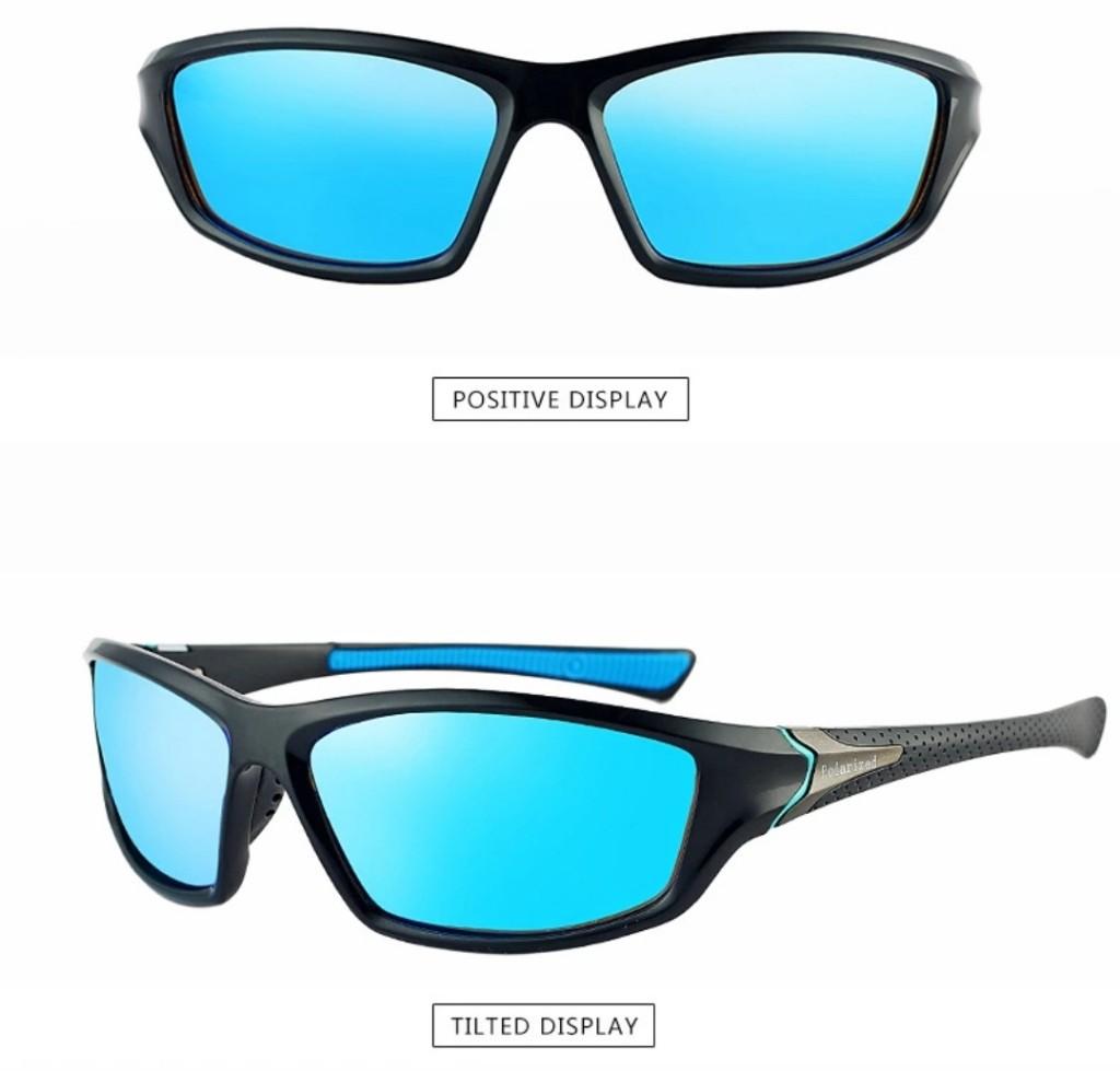 Óculos De Sol Masculino Estilo esporte Uv400 Polarizado