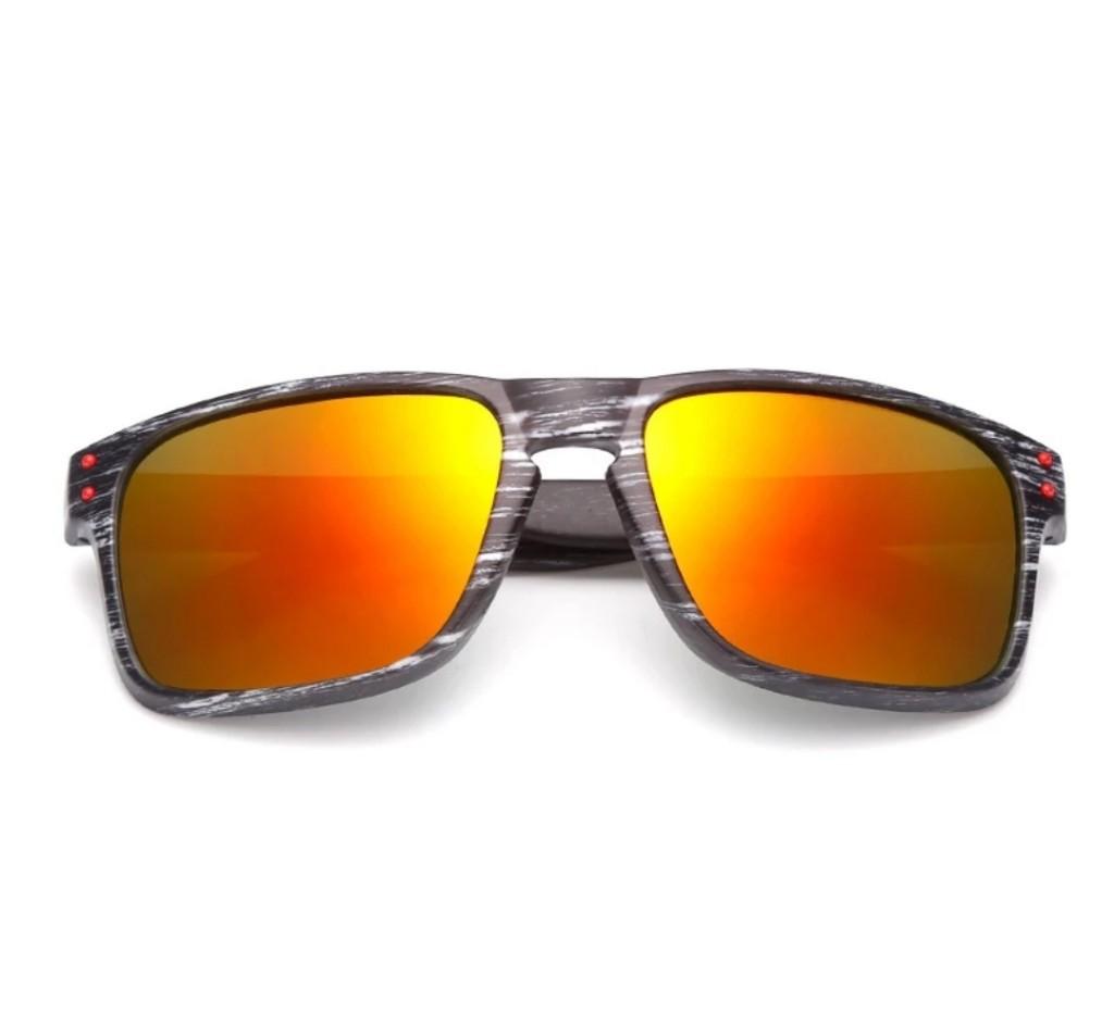 Óculos de Sol Masculino Quadrado espelhado Estiloso