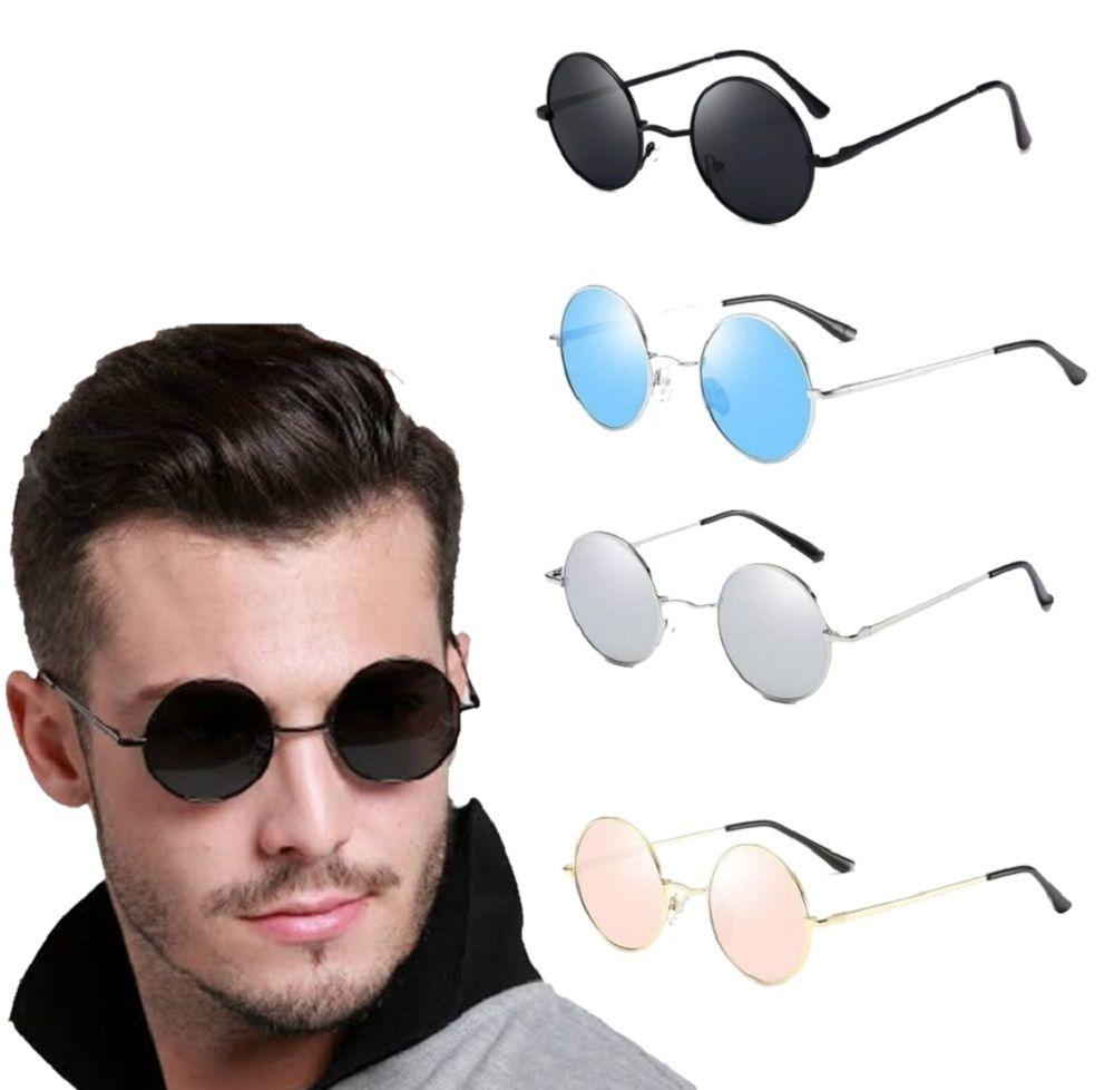 Óculos De Sol Modelo Redondo John Lennon, Ozzy, Raul Seixas, Rock