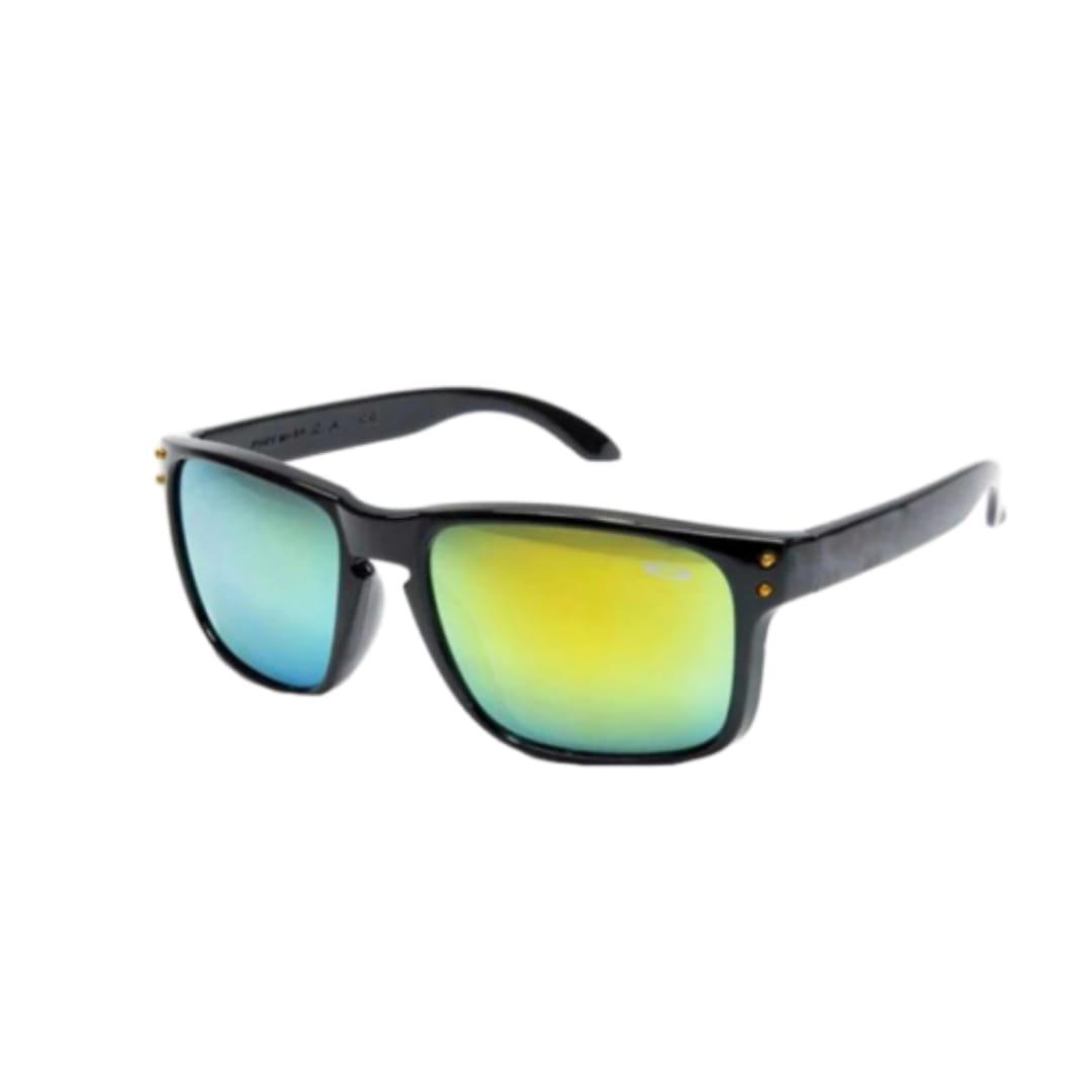 Óculos de Sol Quadrado Esporte Masculino e Feminino  Espelhado
