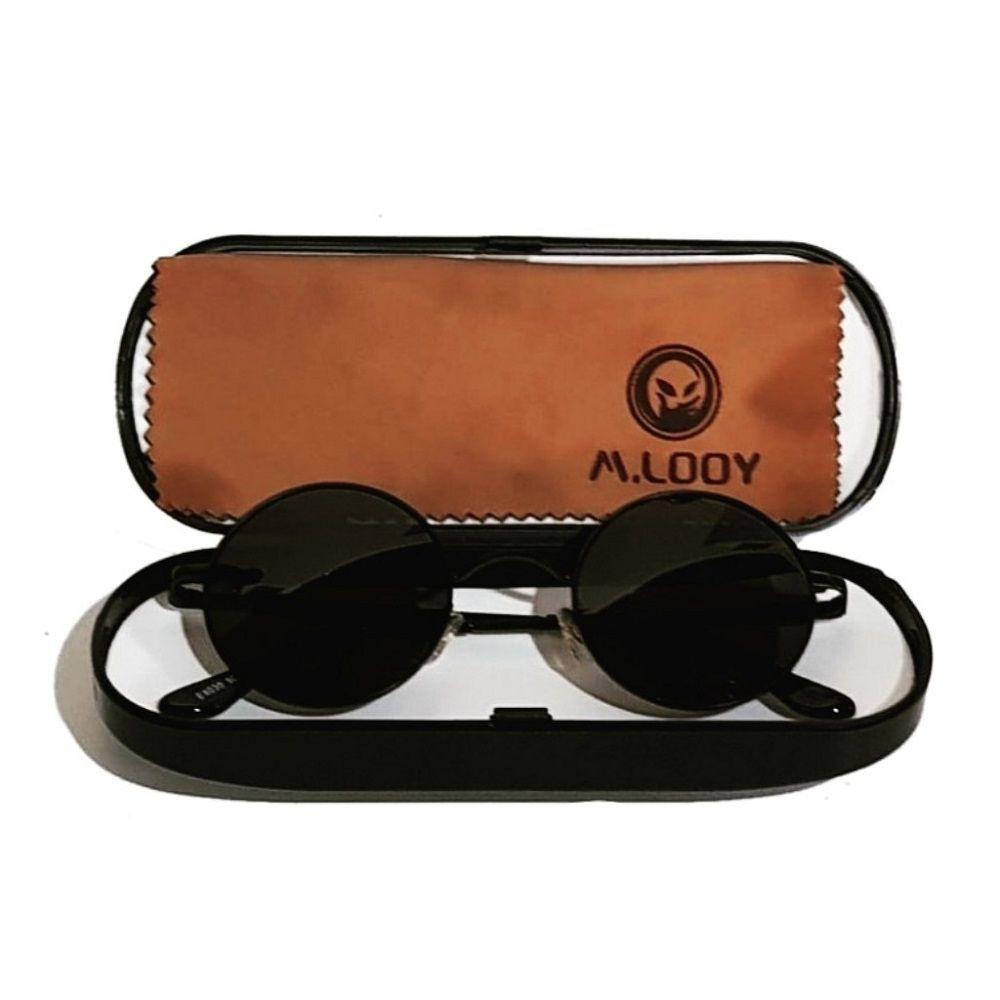 Óculos De Sol Redondo John Lennon, Ozzy, Raul Seixas, Retro