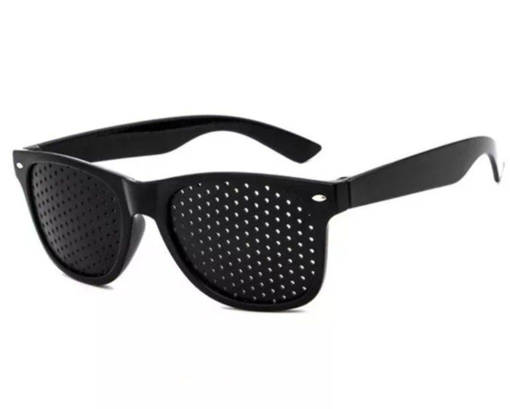 Óculos Antifadiga Pinhole Cuidados p/ olhos Unisex- tratamento