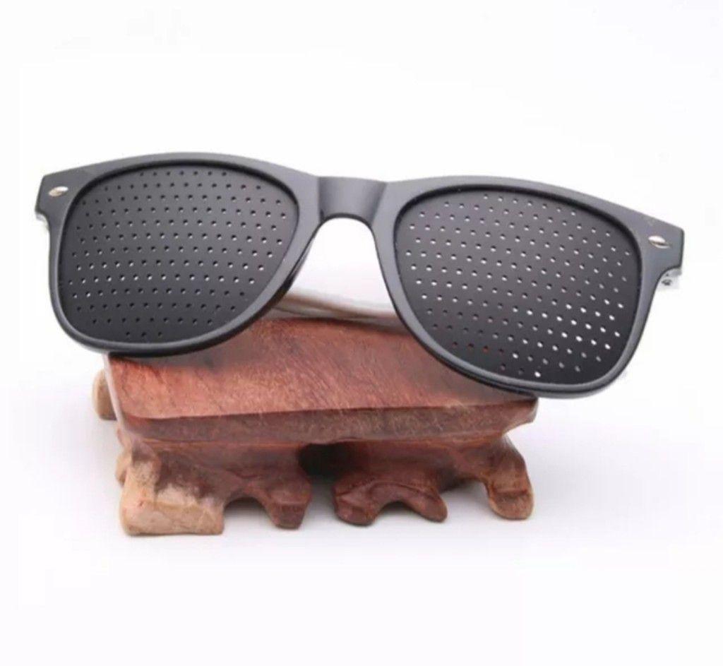 Óculos Pinhole Unisex Reticulado Furinhos -Miopia