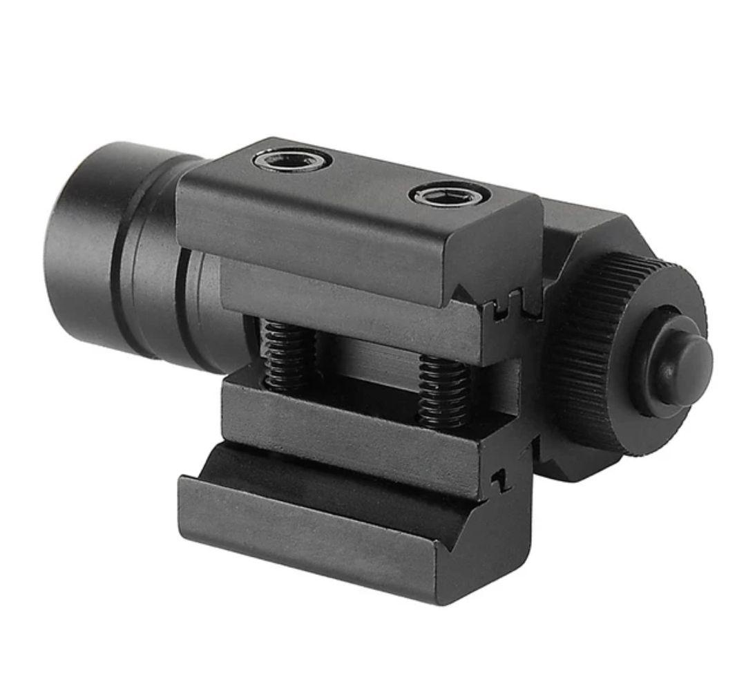 Mira Laser Red Dot Para Pistola Ajustar 11mm 20mm Picatinny Trilho Para HuntIing 50-100 Metros de Alcance 635-655 m