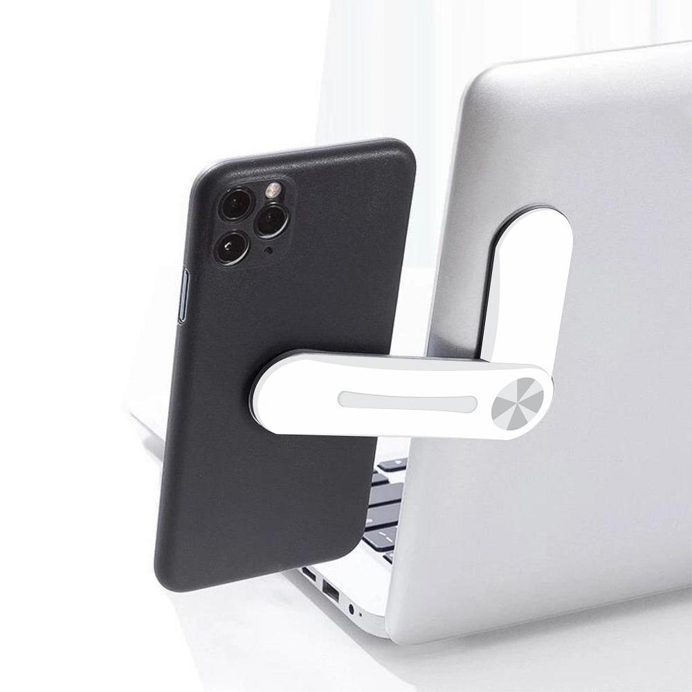 Suporte de Celular Magnético para tela de notebook, Laptop, computador, tablet
