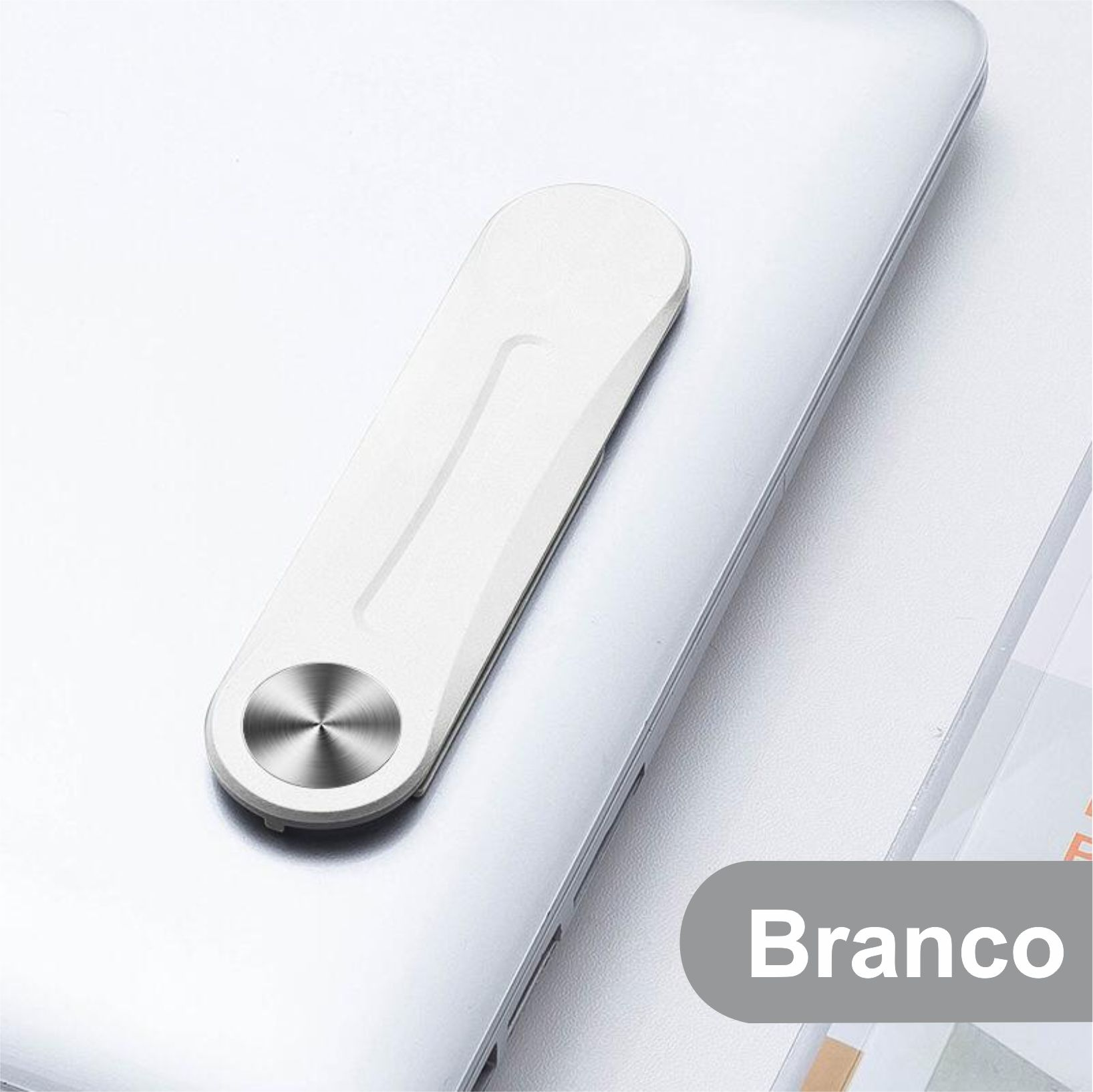 Suporte magnético de Celular para prender na tela de notebook, Laptop, computador, tablet.