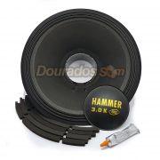 Kit Reparo para Alto Falante Eros E-15 Hammer 3.0k 4R