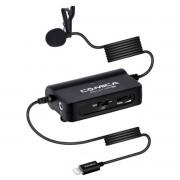 Microfone Lapela Comica Profissional Sig.Lav V05 MI IOS Lightning