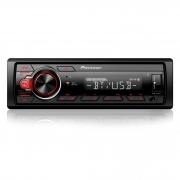 Som Automotivo Pioneer MVHS218 com USB e Bluetooth