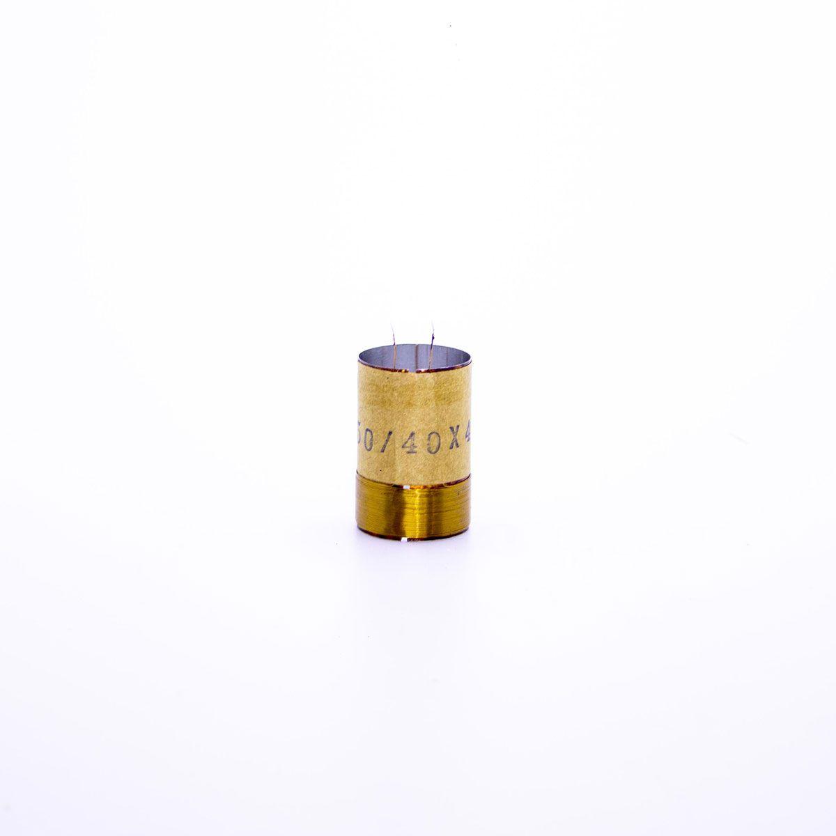 Bobina para Alto Falante Aluminio 25x50 4R 8R