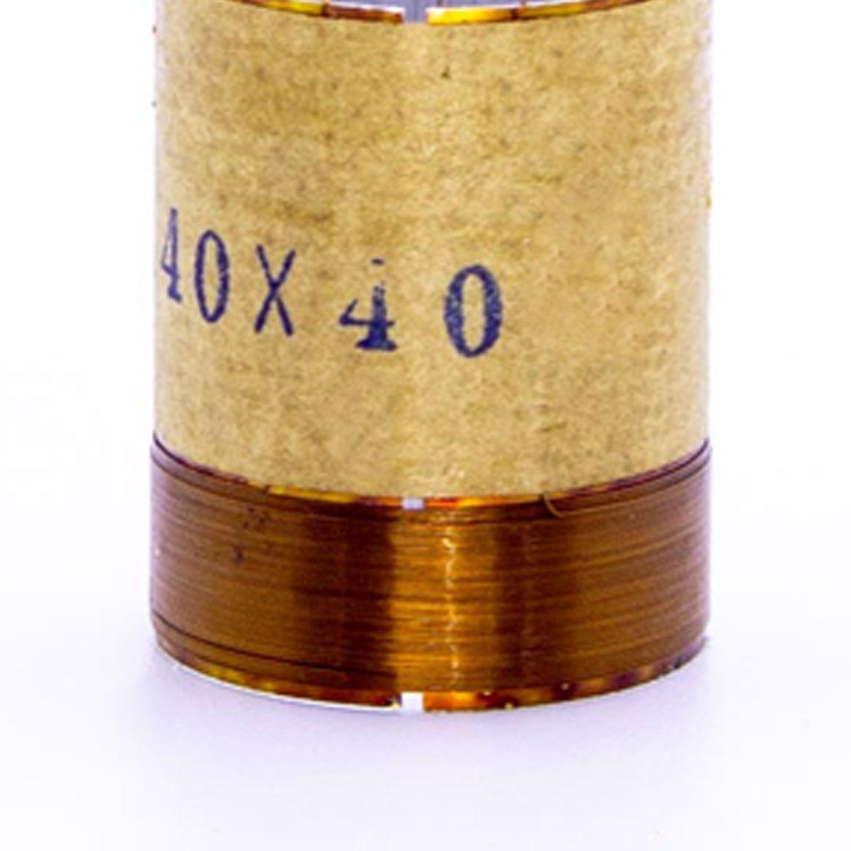 Bobina para Alto Falante Aluminio 30x40 4R 8R