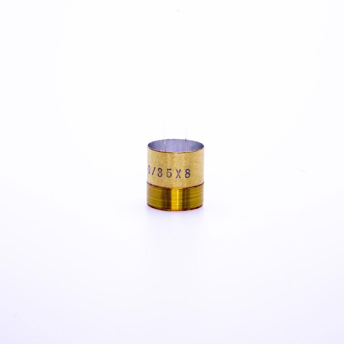 Bobina para Alto Falante Aluminio 33x00 4R 8R