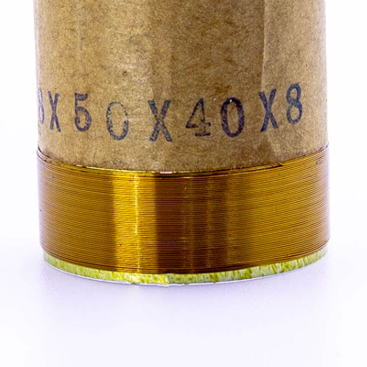 Bobina para Alto Falante Aluminio 38x50 4R 8R