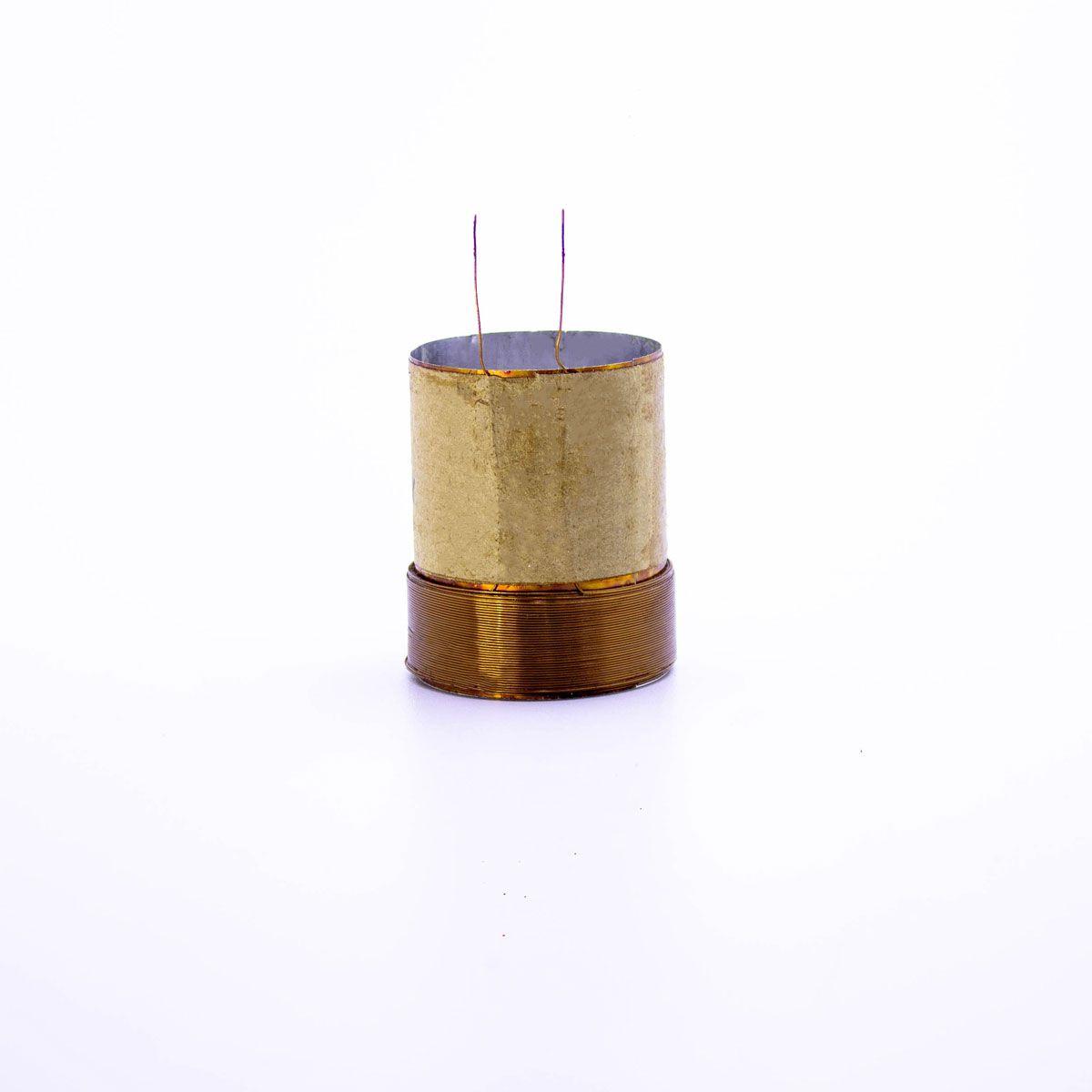 Bobina para Alto Falante Aluminio 38x50 ED