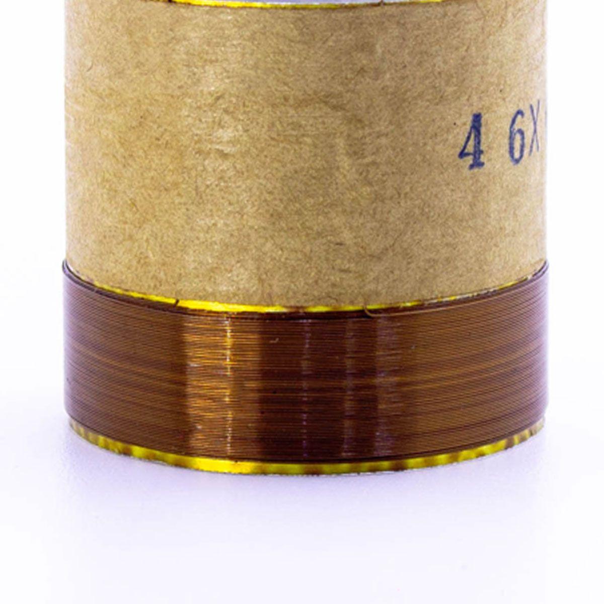 Bobina para Alto Falante Aluminio 46x00 4R 8R