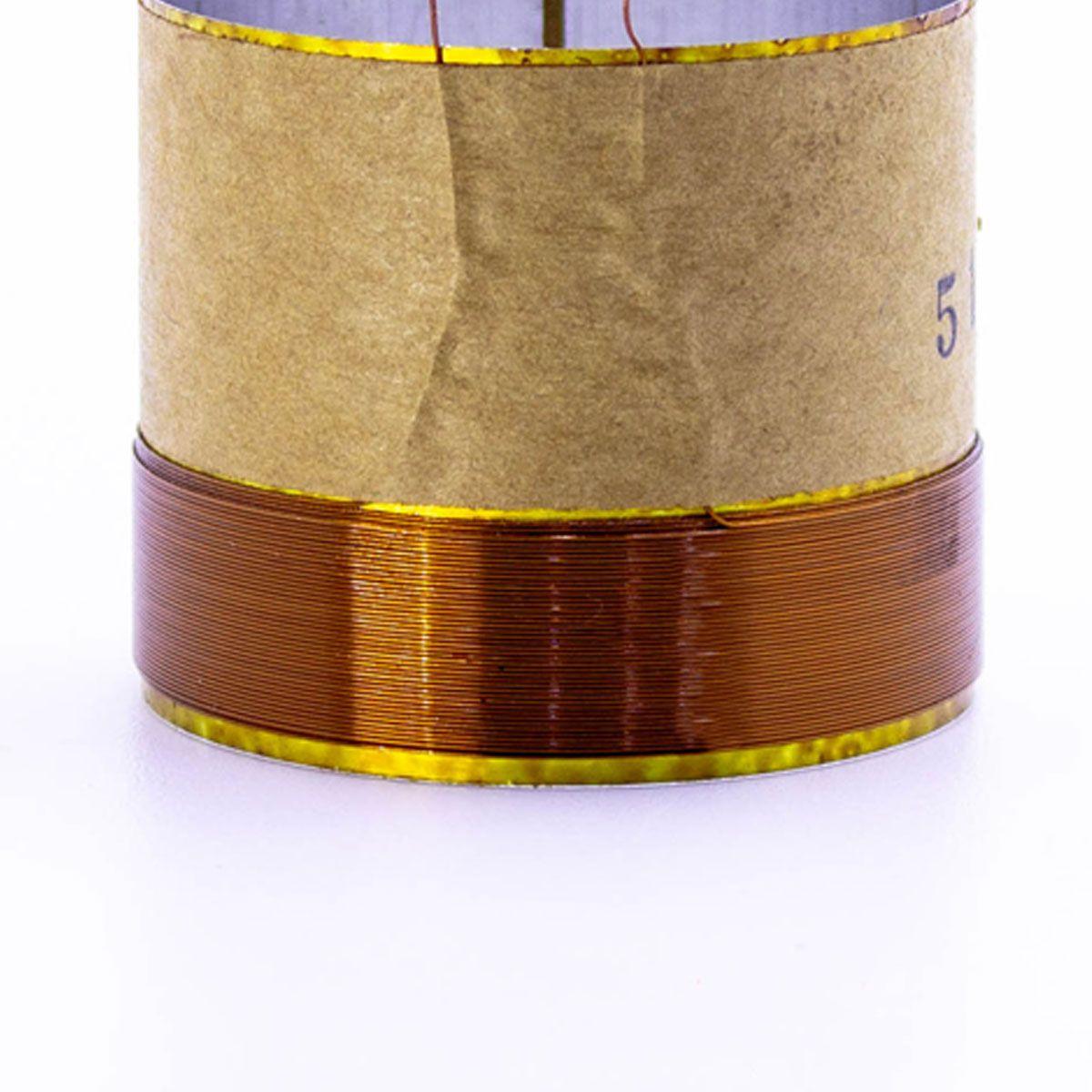 Bobina para Alto Falante Aluminio 51x20 4R 8R