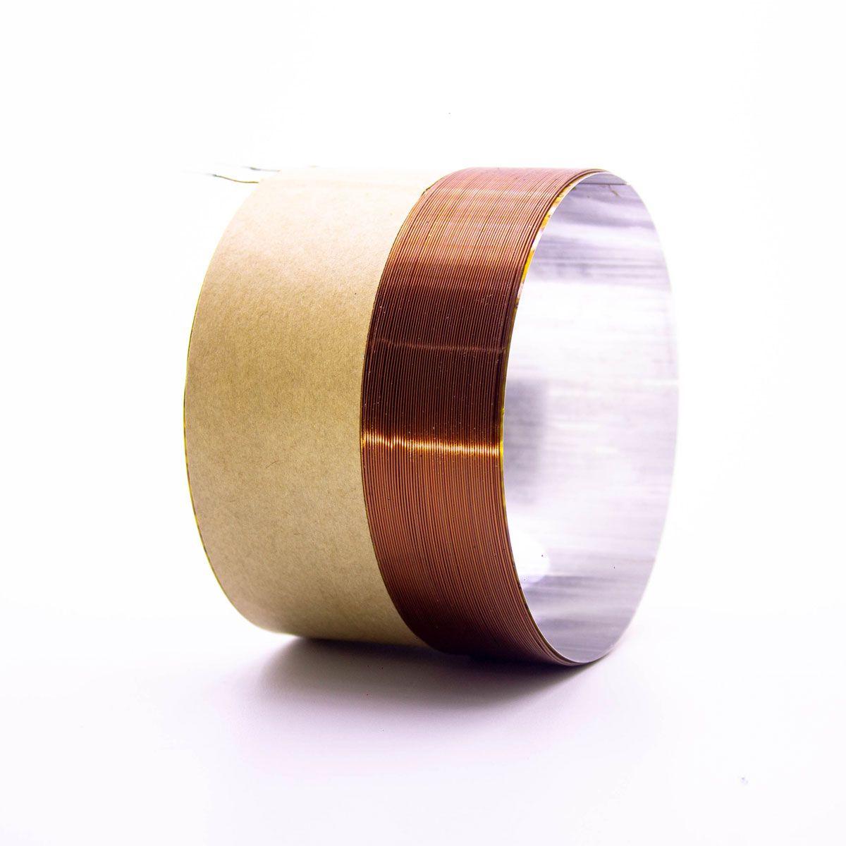 Bobina para Alto Falante Aluminio 90x30 REF 4R 8R