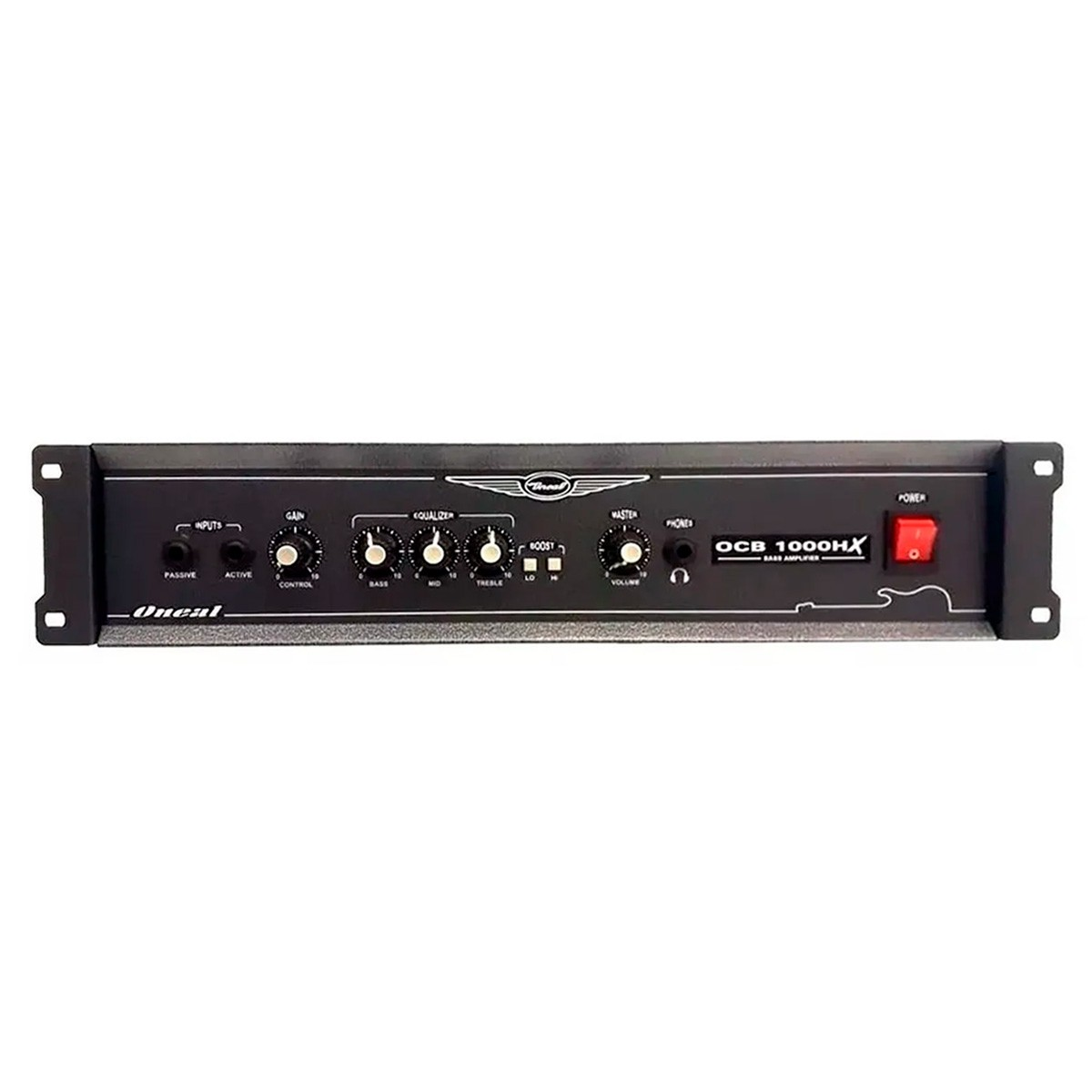 Cabeçote Amplificador P/ Contrabaixo Oneal OCB 1000HX 350Wrms