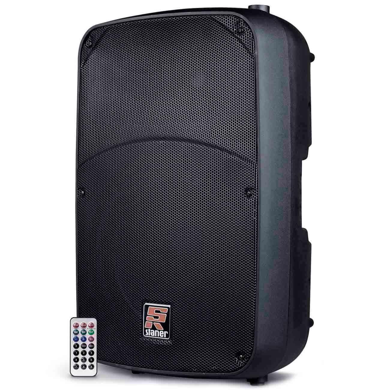 Caixa de Som Ativa Staner SR-315A com Bluetooth