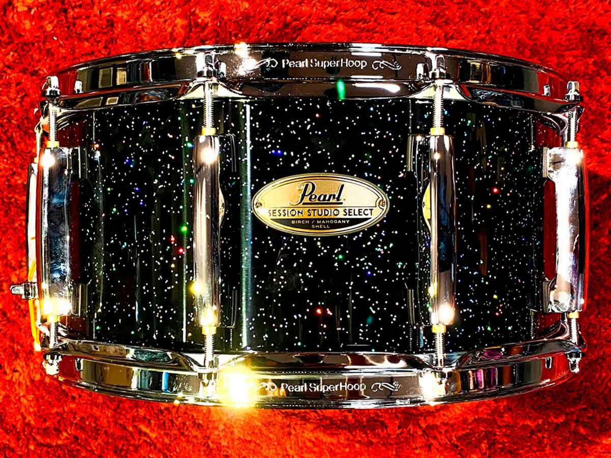 Caixa Pearl Session Studio Select Black Halo Glitter 14x6,5
