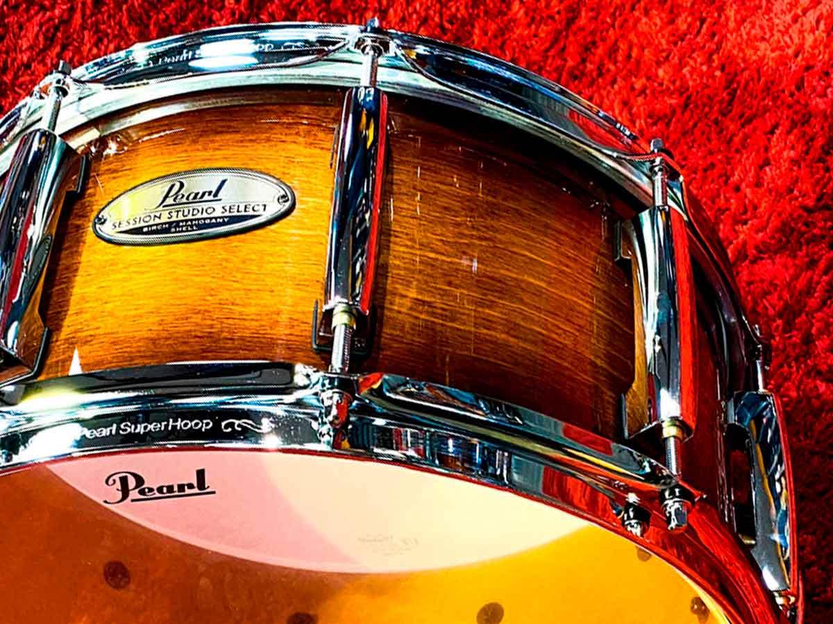 Caixa Pearl Session Studio Select Gloss Barnwood Brown 14x6,5¨