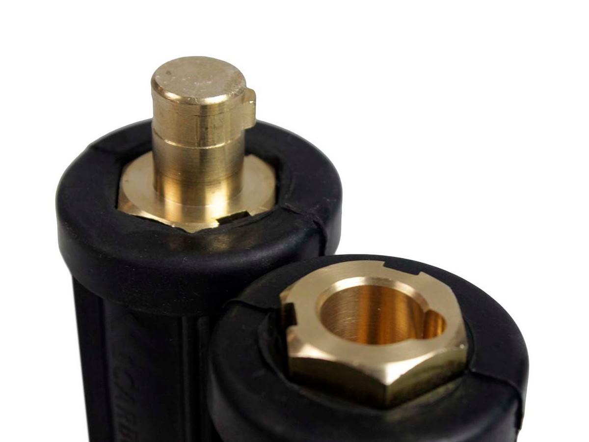 Conector Carbografite CG 500 Capa Protetora em Borracha