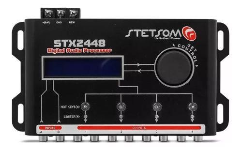 Crossover Stetsom Stx-2448 Processador De Áudio Digital