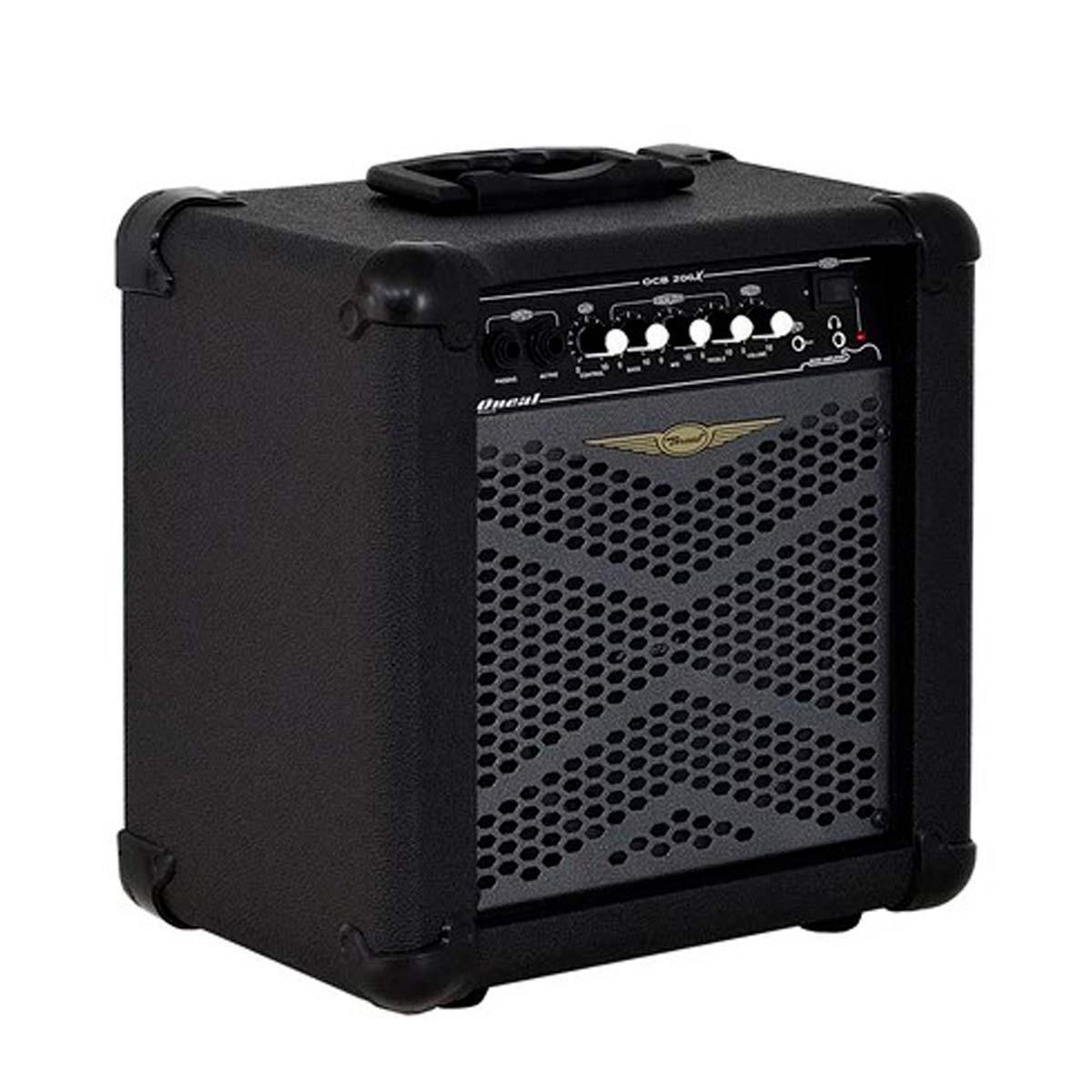 Cubo Amplificador P/ Contrabaixo Oneal OCB 206X 30Wrms