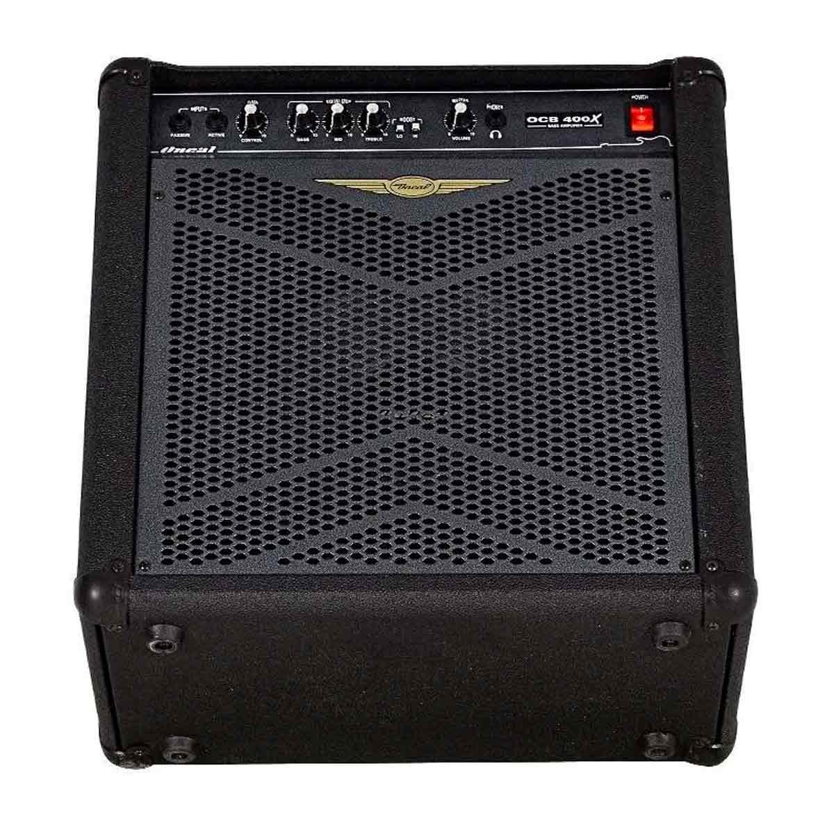 Cubo Amplificador P/ Contrabaixo Oneal OCB 400X 120Wrms