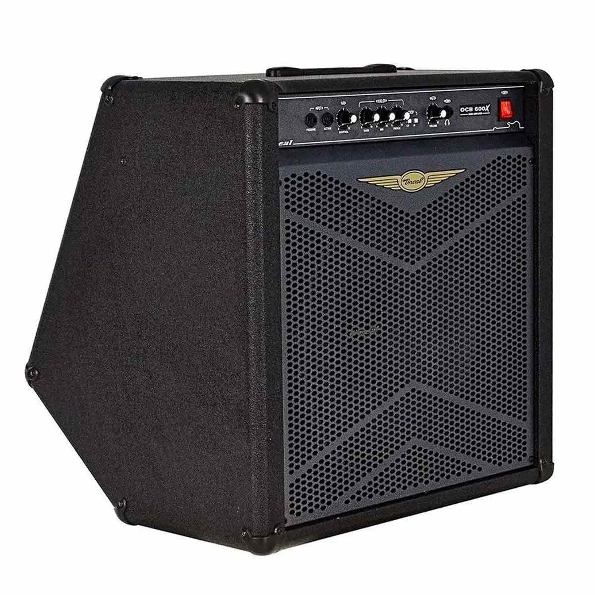 Cubo Amplificador P/ Contrabaixo Oneal OCB 600X 200Wrms