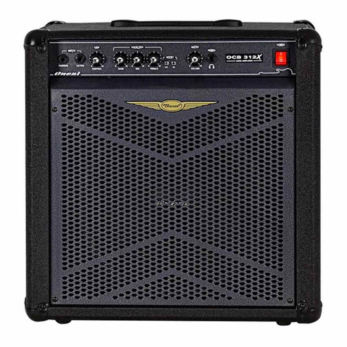 Cubo Amplificador P/ Contrabaixo Oneal OCB 312X 80Wrms