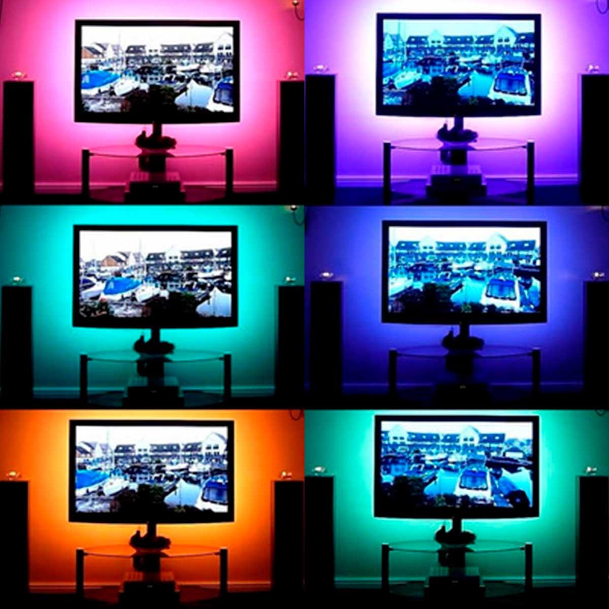 Fita de Led RGB 2811 Rolo 5m 60RW