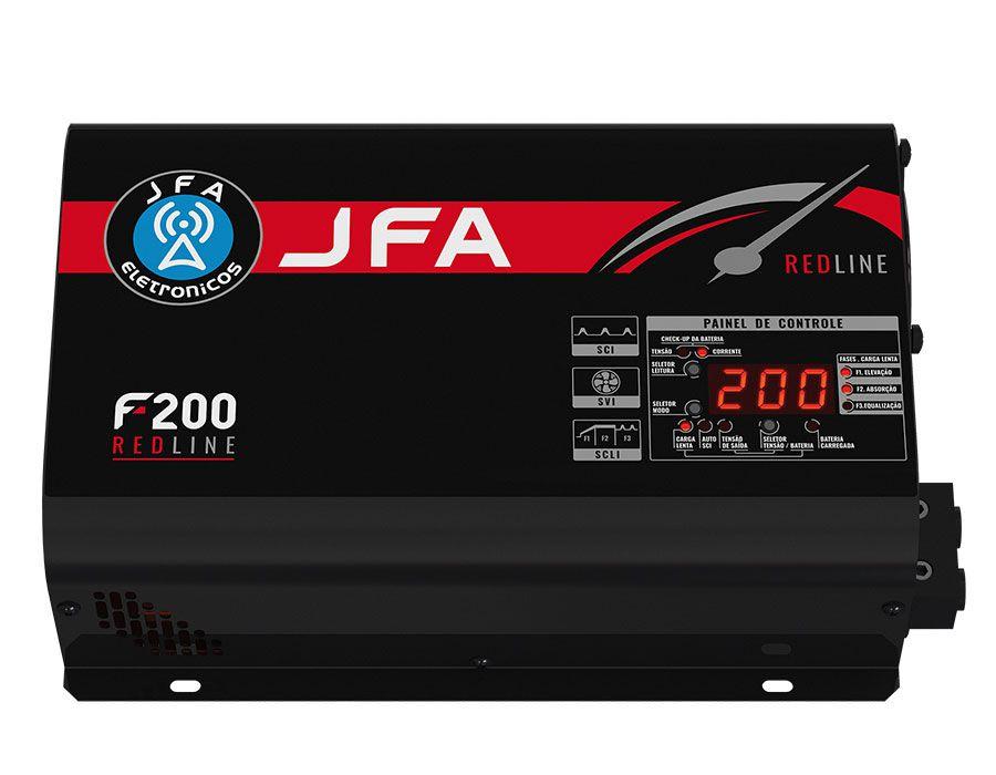 Fonte Automotiva Carregadora JFA F200 Redline