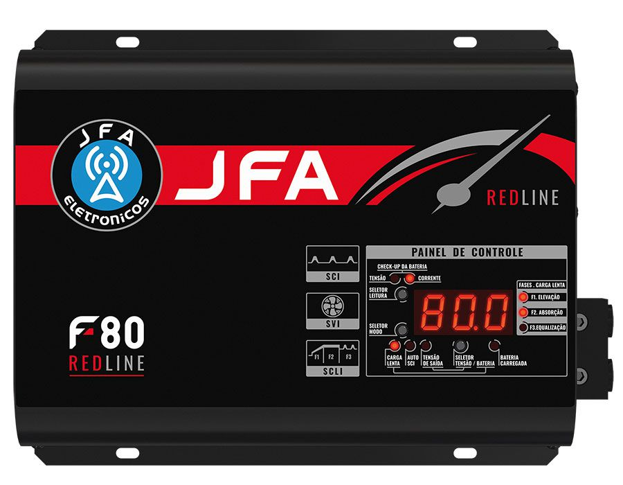 Fonte Automotiva Carregadora JFA F80 Redline
